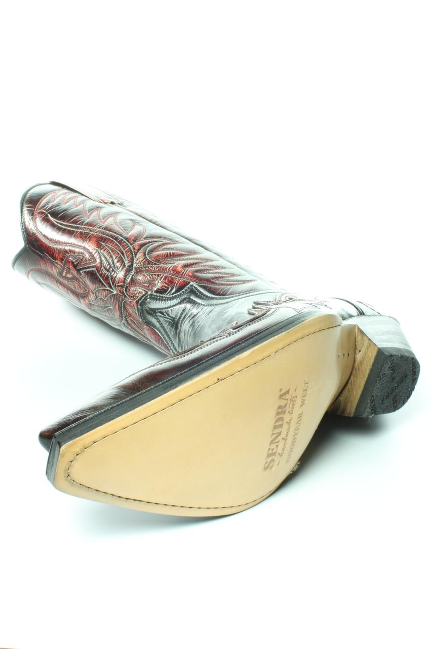 nieuw aangekomen beste kwaliteit schoenen voor goedkoop Sendra 3241-10 Cuervo Ibiza Black Red