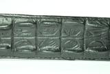Sendra riem krokodil imitaie Zwart