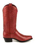 Mayura-Boots-Arpia-2534-Red--Ladies-Western-Boots-Ornamental-Stitching-Pointed-Nose-Sloping-Heel-Smooth-Leather