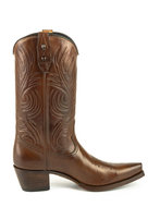 Mayura-Boots-Virgi-2536-Chestnut--Ladies-Western-Boots-Ornamental-Stitching-Pointed-Nose-Straight-Shaft-High-Heel-Smooth-Leather