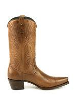 Mayura-Boots-Virgi-2536-Hazelnut--Ladies-Western-Boots-Ornamental-Stitching-Pointed-Nose-Straight-Shaft-High-Heel-Smooth-Leather