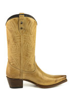 Mayura-Boots-Virgi-2536-Sand-color--Ladies-Western-Boots-Ornamental-Stitching-Pointed-Nose-Straight-Shaft-High-Heel-Smooth-Leather
