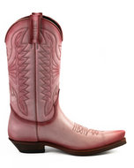 Mayura-Boots-1920-Pink--Pointed-Cowboy-Western-Line-Dance-Ladies-Men-Boots-Slanted-Heel-Genuine-Leather