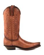 Mayura-Boots-1920-Cognac--Pointed-Cowboy-Western-Line-Dance-Ladies-Men-Boots-Slanted-Heel-Genuine-Leather
