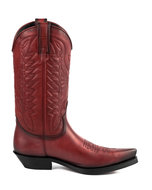 Mayura-Boots-1920-Red--Pointed-Cowboy-Western-Line-Dance-Ladies-Men-Boots-Slanted-Heel-Genuine-Leather