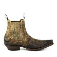 Mayura-Boots-Thor-1931-Chesnut-Brown--Pointed-Western-Men-Ankle-Boot-Slanted-Heel-Elastic-Vintage-Look