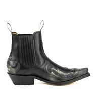 Mayura-Boots-Austin-1931-Black--Pointed-Western-Men-Ankle-Boot-Slanted-Heel-Elastic-Closure-Vintage-Look