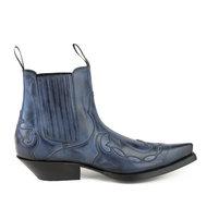 Mayura-Boots-Austin-1931-Blue---Pointed-Western-Men-Ankle-Boot-Slanted-Heel-Elastic-Closure-Vintage-Look