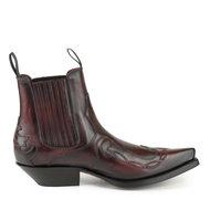 Mayura-Boots-Austin-1931-Bordeaux--Pointed-Western-Men-Ankle-Boot-Slanted-Heel-Elastic-Closure-Vintage-Look
