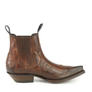 Mayura-Boots-Austin-1931-Chesnut-Pointed-Western-Men-Ankle-Boot-Slanted-Heel-Elastic-Closure-Vintage-Look