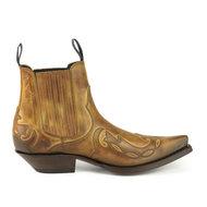Mayura-Boots-Austin-1931-Cognac--Pointed-Western-Men-Ankle-Boot-Slanted-Heel-Elastic-Closure-Vintage-Look