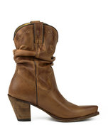 Mayura-Boots-1952-Brown--Western-Fashion-Ladies-Pointed-Cowboy-Boots-High-Heeled-Slumped-Shaft-Smooth-Leather