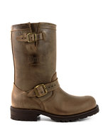 Mayura-Boots-18-Brown--Biker-Ladies-Men-Motorcycle-Boots-Round-Toe-Oil-Resistant-Sole-Genuine-leather
