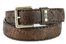 Mayura-Belt-1020-Brown-Python-4cm-Wide-Removable-Buckle