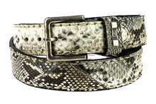 Mayura-Belt-1020-White-Natural-Python-4cm-Wide-Removable-Buckle