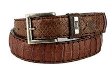 Mayura-Belt-214-Camel-Crocodile-Python-4cm-Wide-Removable-Buckle