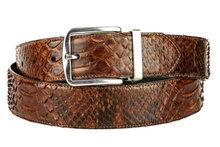 Mayura-Belt-810P-Cognac-Python-3.5cm-Wide-Removable-Buckle