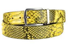 Mayura-Belt-810P-Yellow-Python-3.5cm-Wide-Removable-Buckle