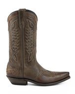 Mayura-Boots-17-Brown--Mens-Cowboy-Ankle-Boots-Pointed-Toe-Slanted-Heel-Waxed-Leather