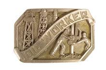 Oil worker buckle